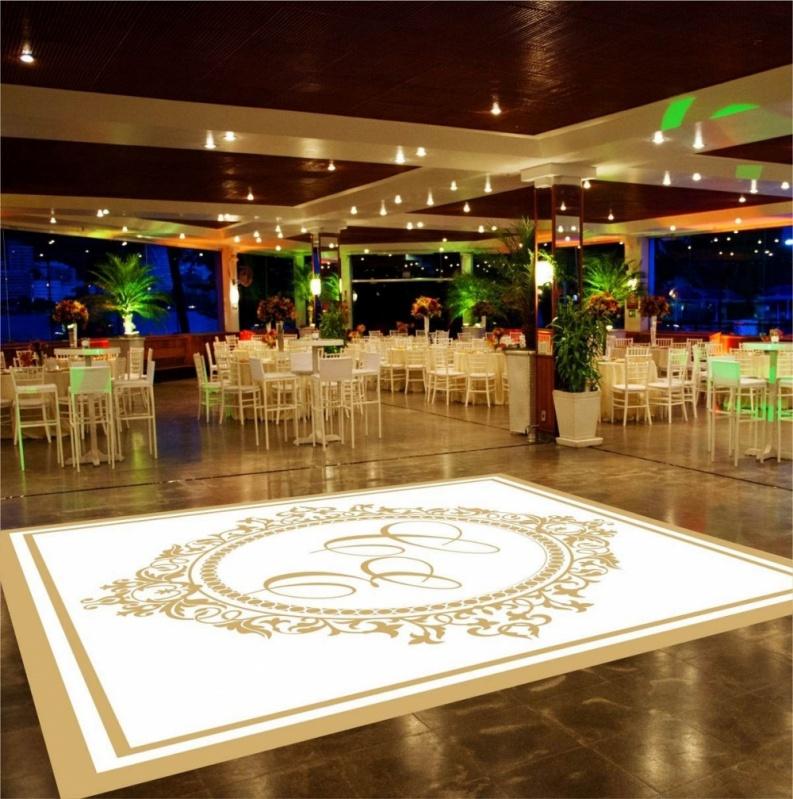 Adesivo de Chão para Festa de Casamento Preço Gávea - Pista de Dança para 15 Anos