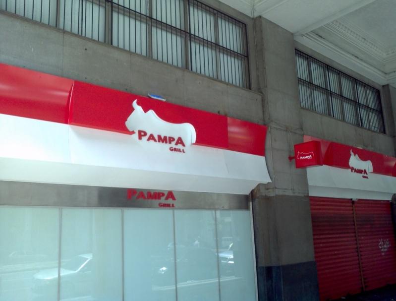 Fachada em Acm Preço Barra da Tijuca - Fachada Comercial em Acm
