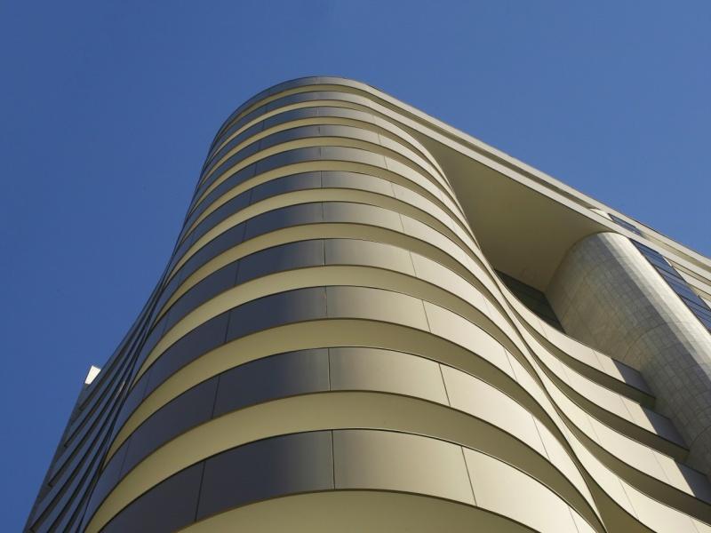Fachadas de Loja em Acm Copacabana - Revestimento Acm
