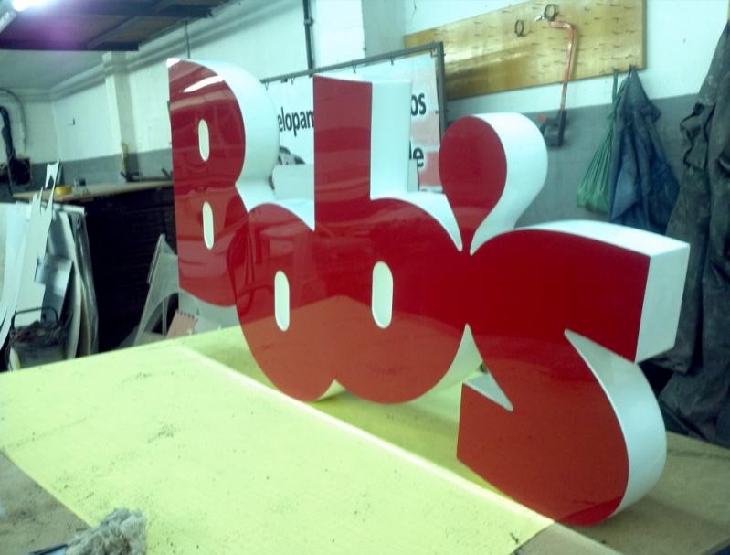 Letra em Alto Relevo para Fachadas Gávea - Letras em 3D