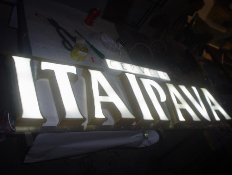 Letras Caixa em Chapas Galvanizadas Tijuca - Letras em 3D