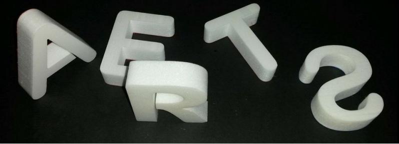Letras em 3D Barata Leblon - Letras em Bloco