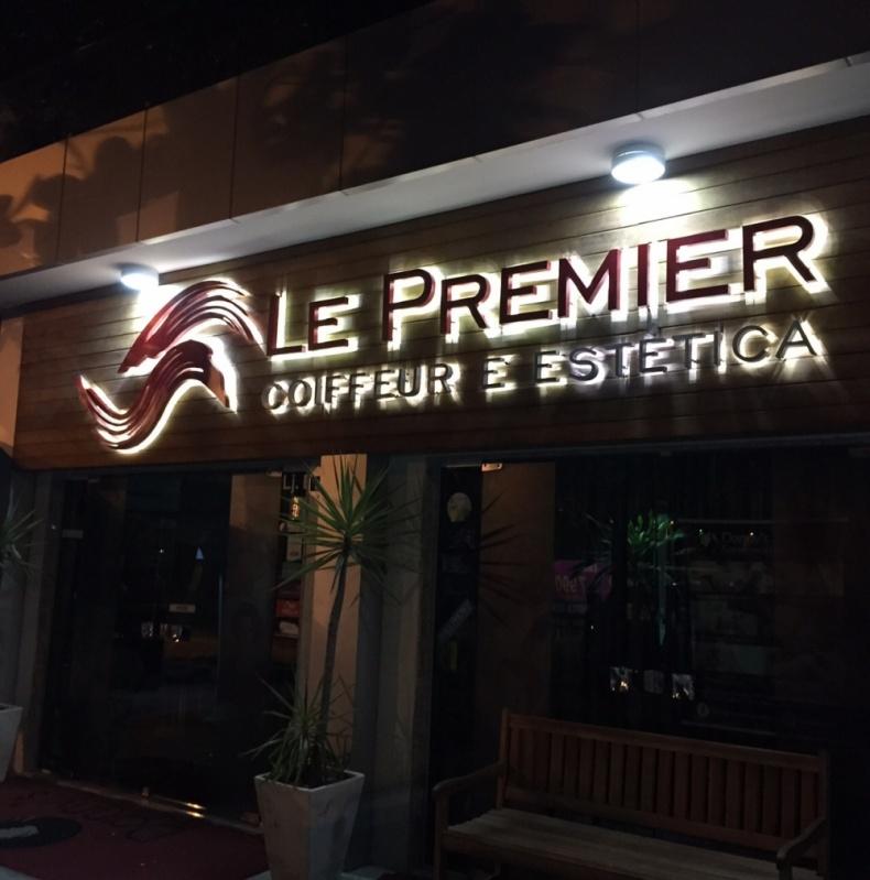 Letras em Alto Relevo para Fachadas Copacabana - Letra em Chapa para Fachadas de Lojas
