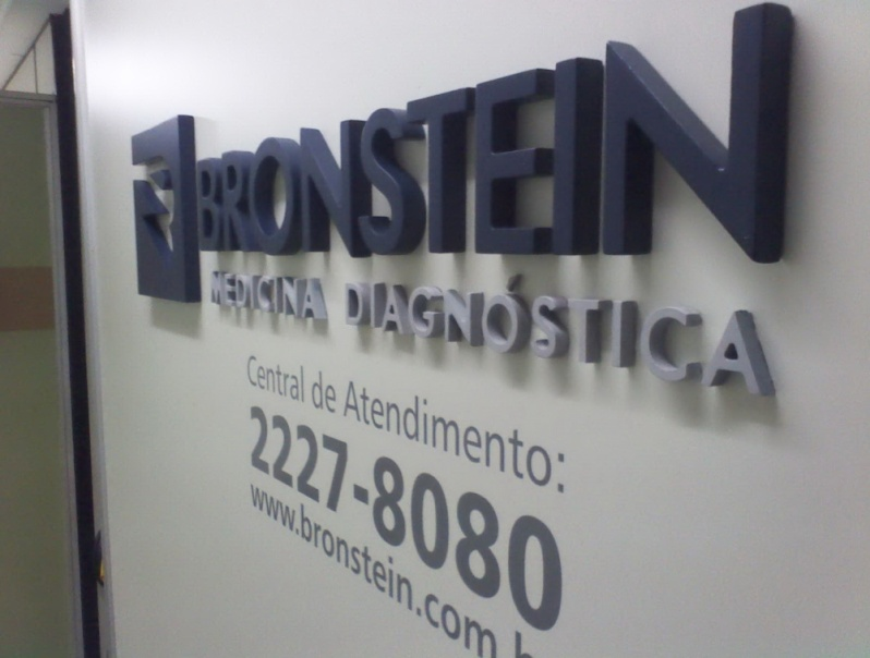 Letreiros em MDF para Recepção Tijuca - Letreiro em Neon para Fachada