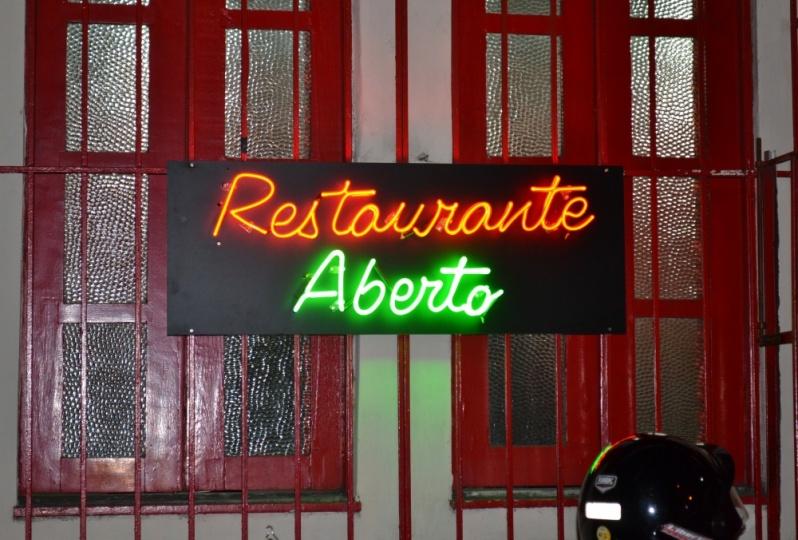 Letreiros em Neon Personalizados Laranjeiras - Letreiro em Neon para Fachada