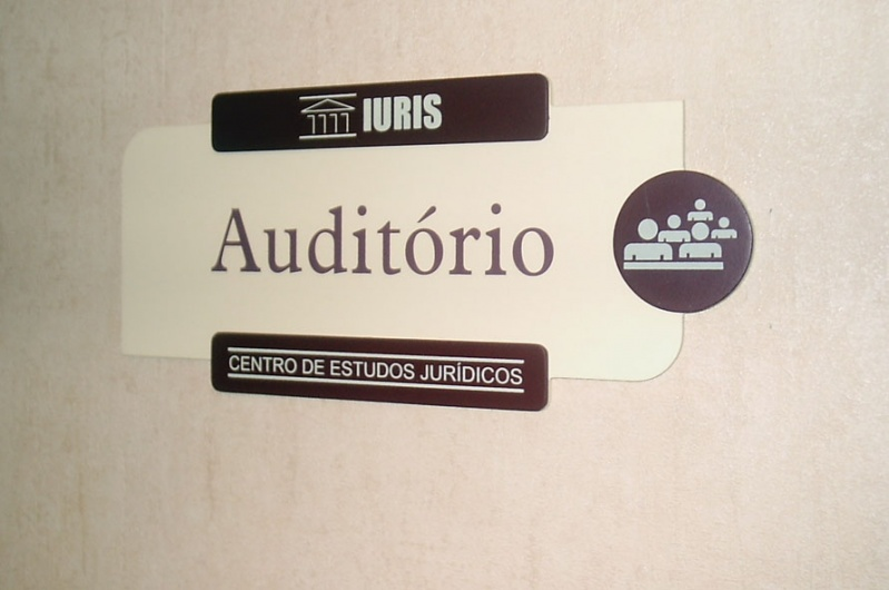Orçamento de Placas para Portaria de Empresas Tijuca - Placa para Sala Comercial Personalizada
