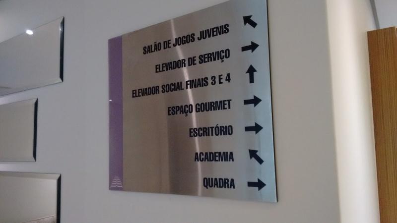 Orçamento de Placas para Salas Comerciais Ipanema - Placa com Nome do Condomínio