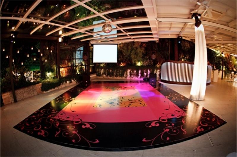 Pista de Dança Personalizada Preço Jacarepaguá - Adesivo de Chão para Festa de Casamento