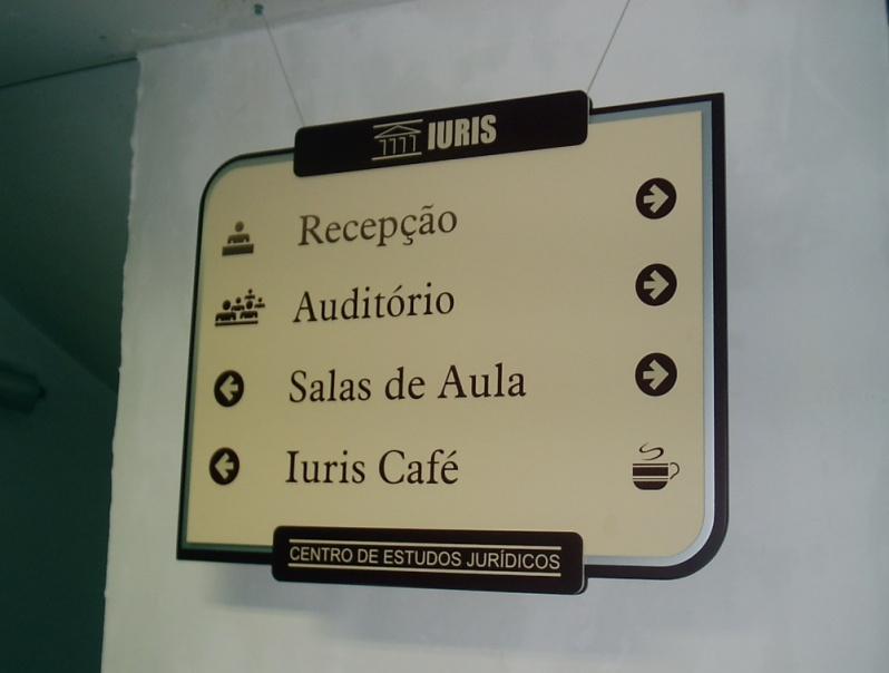 Placa para Portaria de Condomínio Preço Copacabana - Placa para Portaria