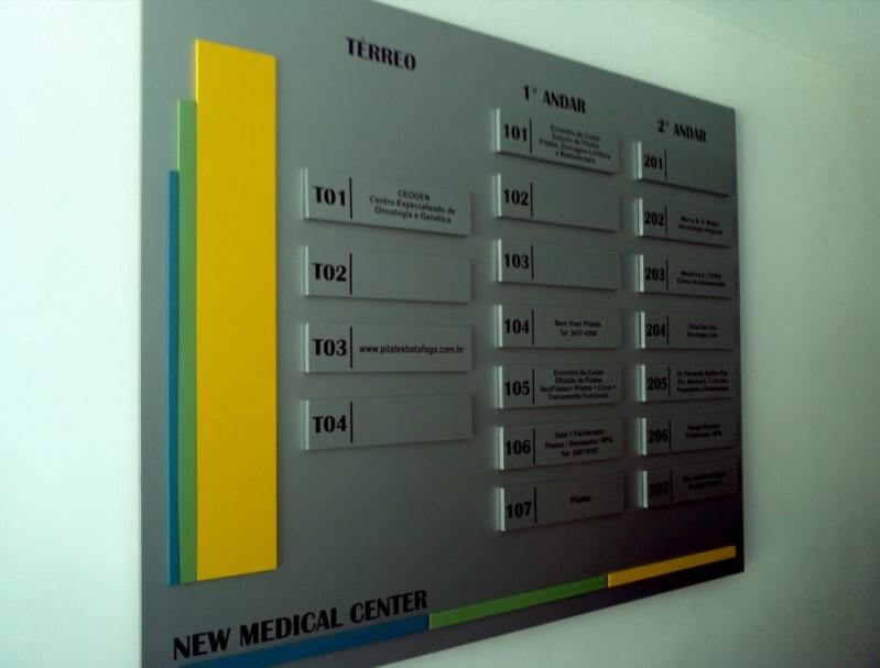 Placa para Portaria de Condomínio Jacarepaguá - Placas para Portaria de Empresas