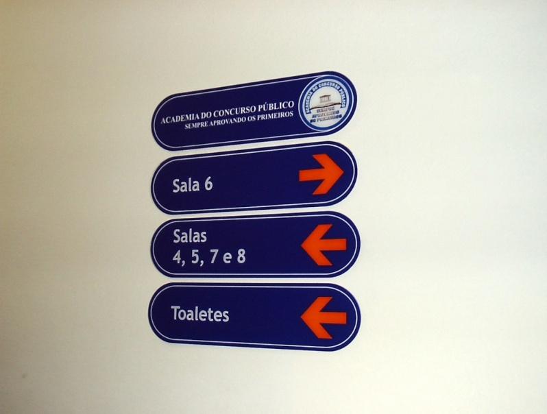 Placa para Portaria Preço Gávea - Placa com Nome do Condomínio