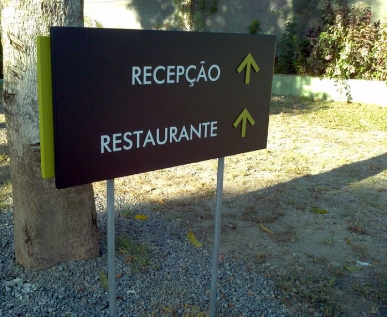 Placa para Prédio Jacarepaguá - Placas de Sinalização de Condomínio