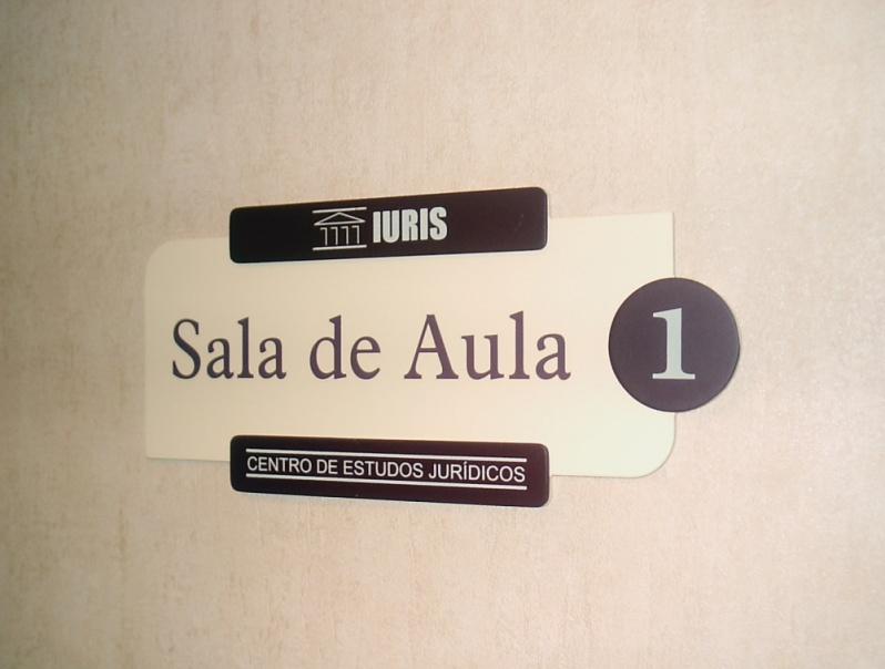 Placas para Sinalização Interna Empresarial Madureira - Placas de Sinalização no Rio de Janeiro