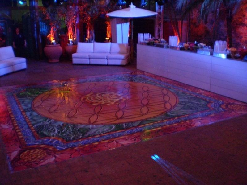 Quanto Custa Tapete de Dança Personalizado Barra da Tijuca - Pista de Dança para Casamentos