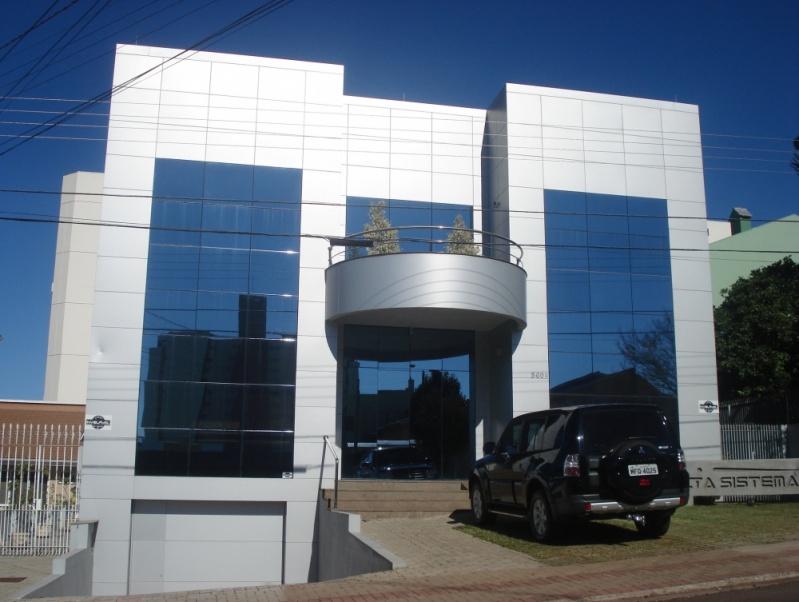 Revestimento Acm Preço Lagoa - Fachada em Acm