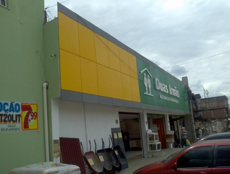 Revestimento de Fachada Acm Quanto Custa Barra da Tijuca - Fachada em Acm