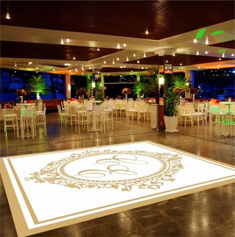 Tapete Adesivo Personalizado Preço Jacarepaguá - Pista de Dança Personalizada
