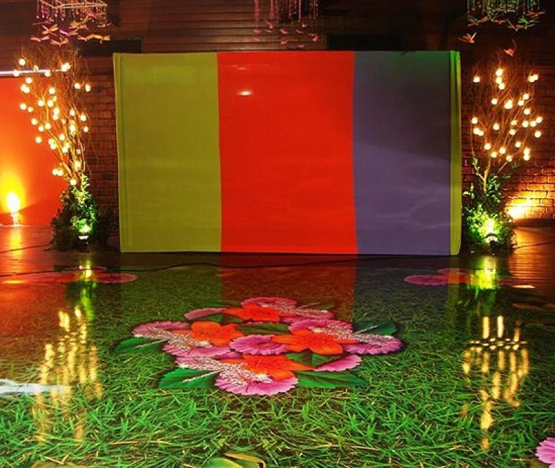 Tapete de Dança Personalizado Gávea - Tapete Adesivo para Casamento