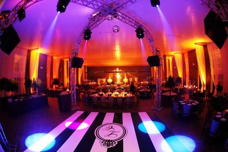Tapetes Personalizados para Festa de Casamento Gávea - Pista de Dança Personalizada