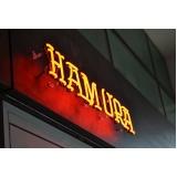 comprar letreiro em neon para loja Barra da Tijuca