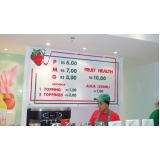 criação de display para lojas Flamengo