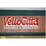 letra caixa em pvc Botafogo