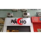 letra em chapa para fachadas barata Copacabana