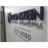 letra em chapa para fachadas de empresa Ipanema