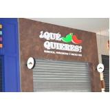 letra em chapa para fachadas de lojas barata Laranjeiras