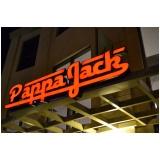 letra em chapa para fachadas de lojas Jacarepaguá