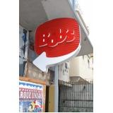 letras caixa em pvc preço Copacabana