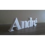 letras em 3D Leblon
