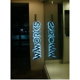 letras em chapa para fachadas Laranjeiras