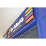 letreiro XPS para fachada de lojas Jacarepaguá