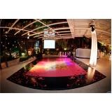 pista de dança para casamentos Barra da Tijuca