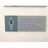 placa de sinalização Laranjeiras