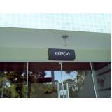 placa para condomínio preço Copacabana
