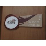 placas de sinalização comunicação visual Botafogo