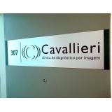 placas de sinalização em aço Centro