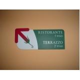 placas de sinalização para empresas quanto custa Jacarepaguá