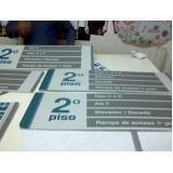 placas de sinalização quanto custa Jacarepaguá