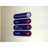 placas para portaria de empresas Ipanema