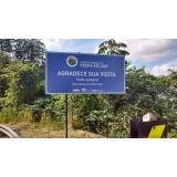 placas personalizadas para escritório Tijuca
