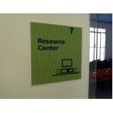sinalização interna de empresas Centro