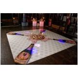 tapete de dança personalizado preço Leblon